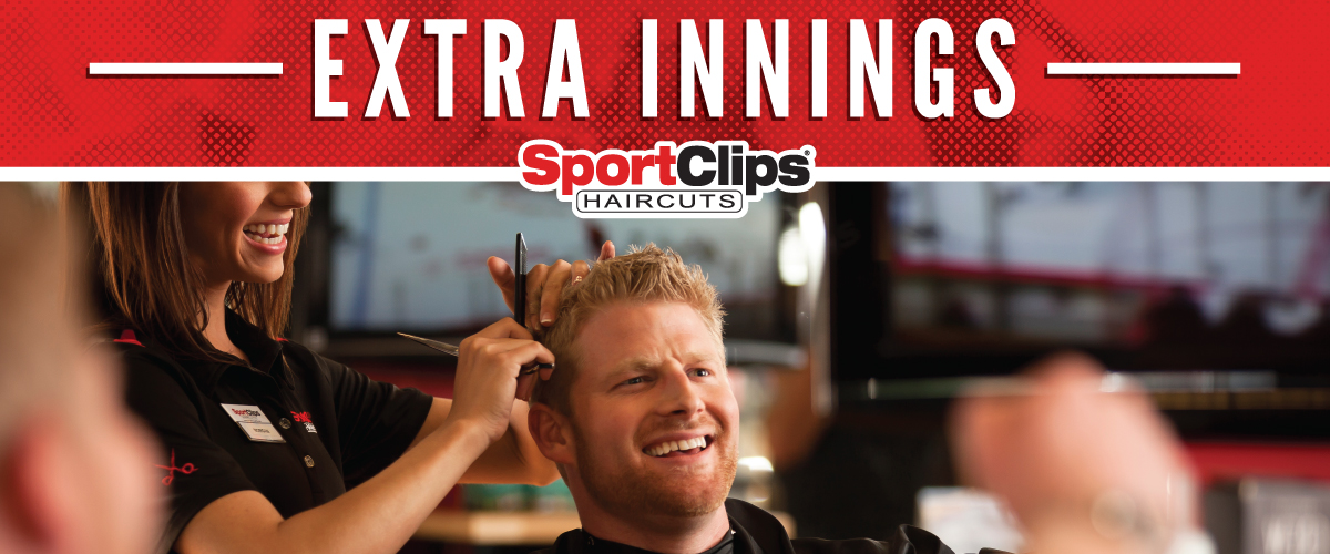 The Sport Clips Haircuts of East Brunswick Extra Innings Offerings